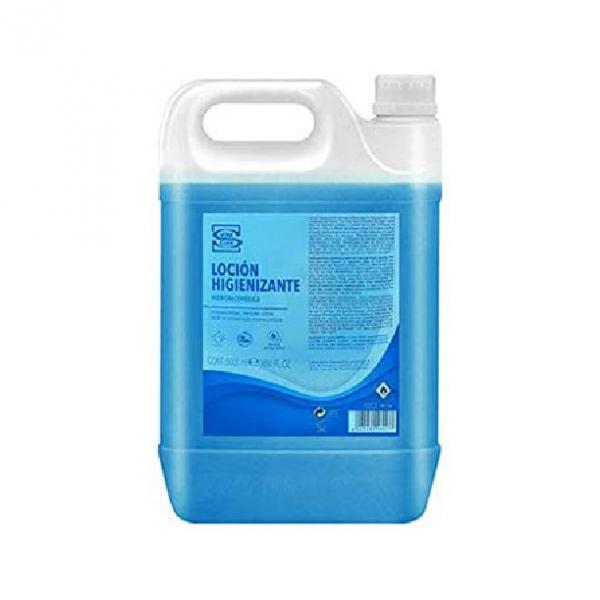 Loción Desinfectante Hidroalcolico con Aloe 5 L.